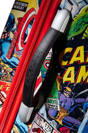 American Tourister Marvel Legends Comic Suitcase Spinner 65cm Handle