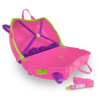 Trunki Trixie - open empty with straps