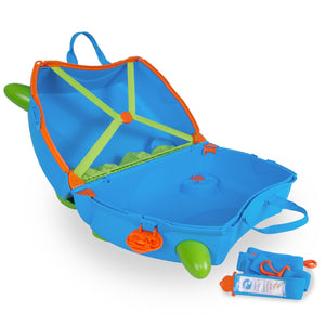 Trunki Terrance - Open with straps