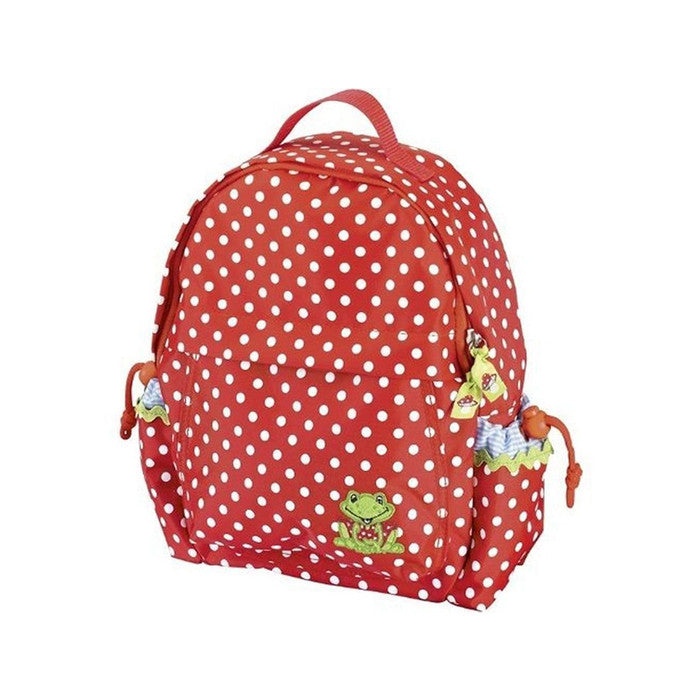 Princess Lillifee Medium Backpack Red With Polka Dots