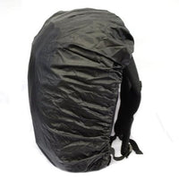 "Members 17"" Laptop Backpack with Rain Cover Black"