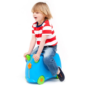 Trunki Terrance - with child riding