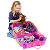Trunki Trixie - open with child and toys