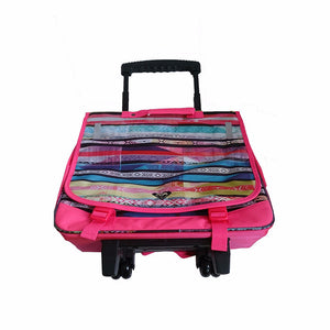 Roxy Green Monday Laptop Bag on Wheels Pink