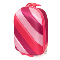 Kids Travel 2 Soft Shell Sunset Coral Suitcase