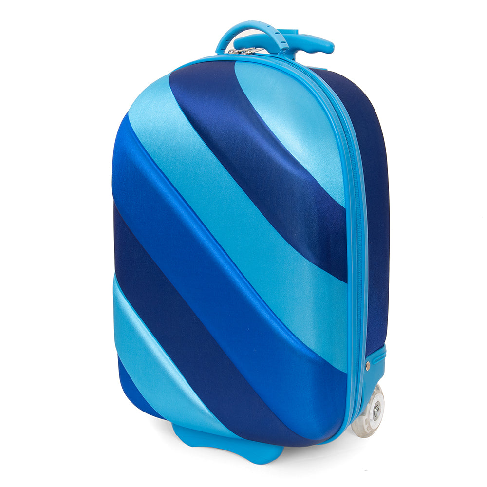 Kids Travel 2 Soft Shell Shimmering Seas Suitcase