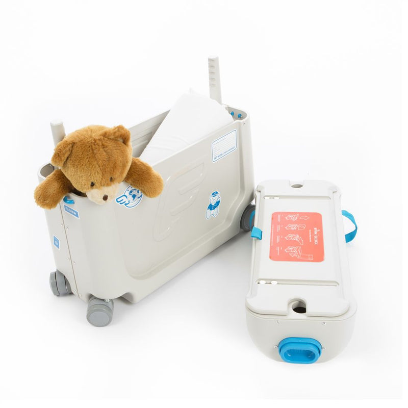 JetKids BedBox Travel Blue With Teddy