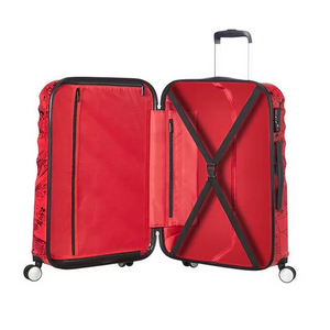 American Tourister Mickey Comics Red Spinner 67cm