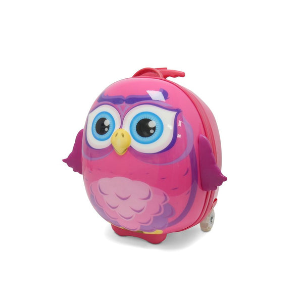 KT2 Children's Suitcase Owl
