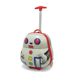 Kids Travel 2 Children's Suitcase Robot Handle