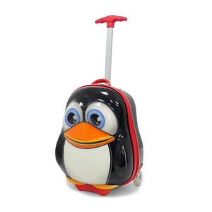 Kids Travel 2 Children's Suitcase Penguin Handle
