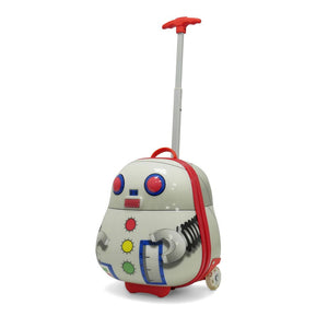 Kids Travel 2 Children's Suitcase Robot Handle Extended