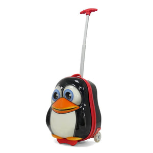 Kids Travel 2 Children's Suitcase Penguin Handle Extended