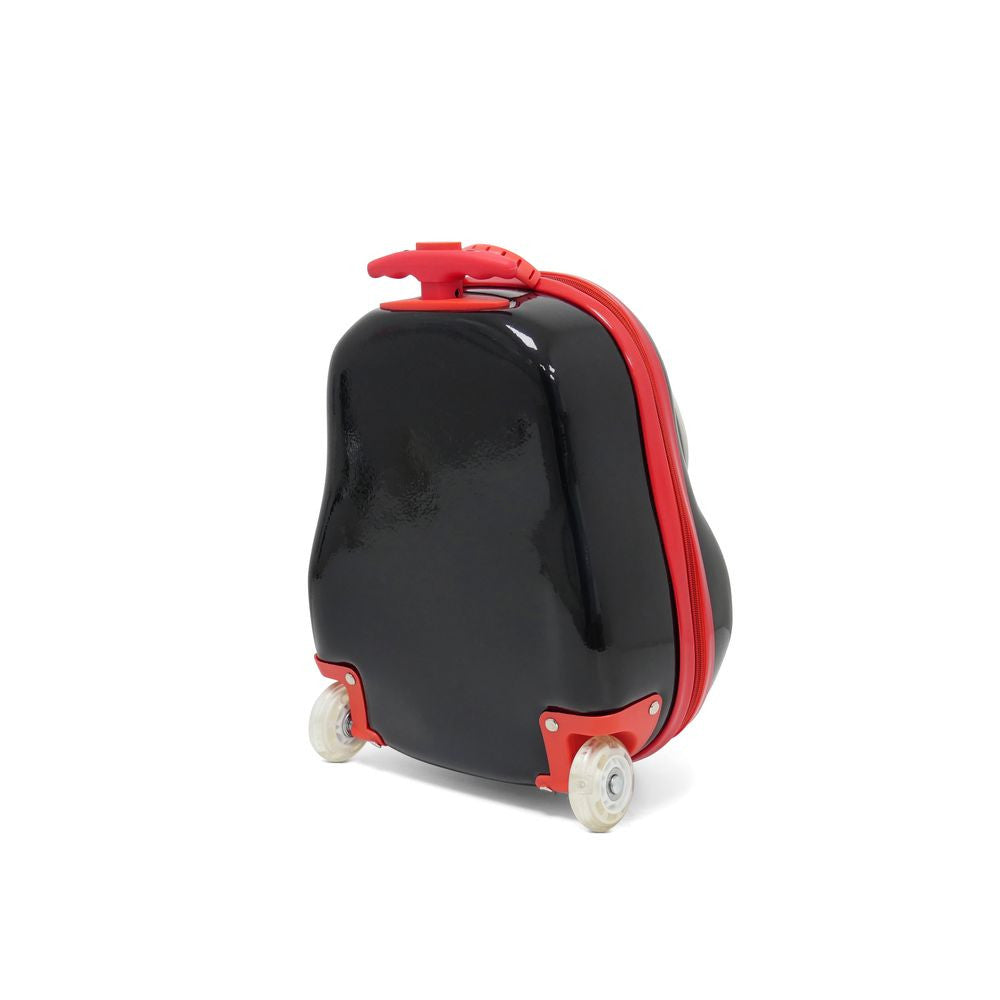 Kids Travel 2 Children's Suitcase Penguin Back