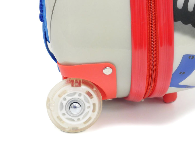 Kids Travel 2 Children's Suitcase Robot Wheels