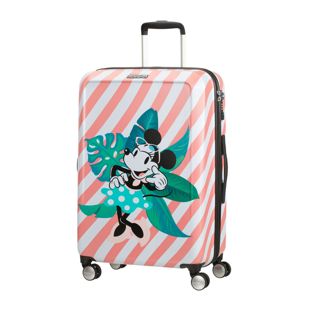 American Tourister Funlight Disney Minnie Miami Holiday Spinner 67cm