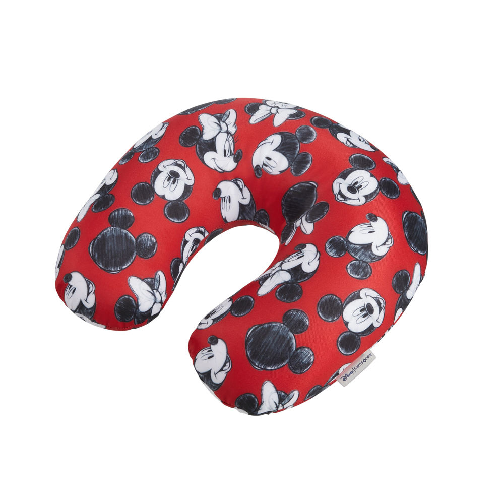Samsonite Global TA Disney Mickey/Minnie Red Microbead Travel Pillow