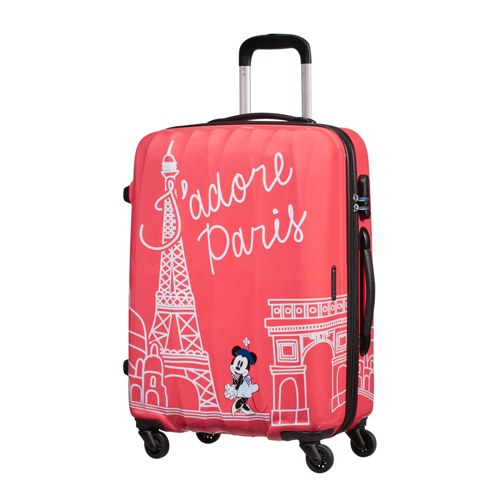 American Tourister Legends Disney Take Me Away Minnie Paris Spinner 65cm Alfatwist