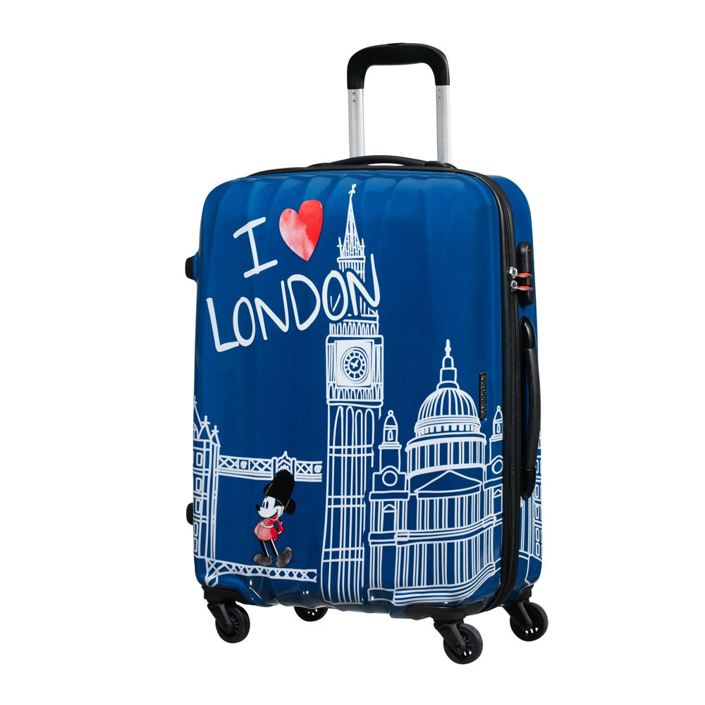 American Tourister Legends Disney Take Me Away Mickey London Spinner 65cm Alfatwist