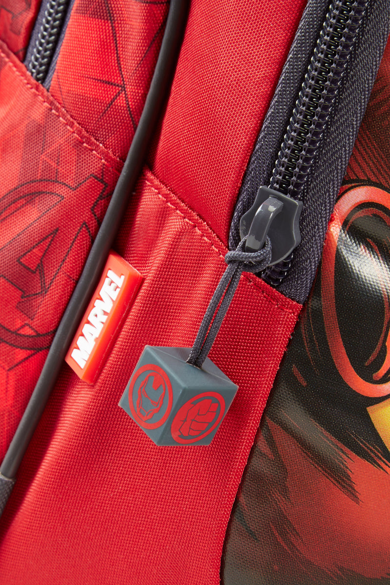 Samsonite Marvel Wonder Backpack Small+ Avengers - close up