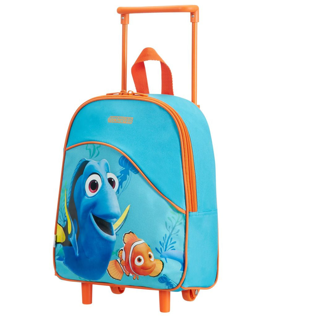 American Tourister Dory - Nemo Fintastic School Trolley 34cm Front With Handle Up