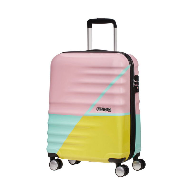American Tourister Wavebreaker Limited Editions Spinner 55cm Zig Zag