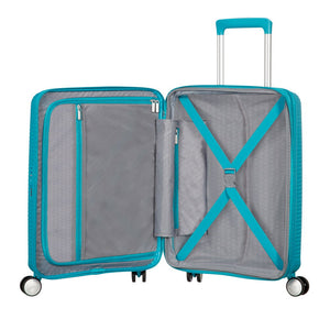 American Tourister Soundbox 55cm Spinner Summer Blue