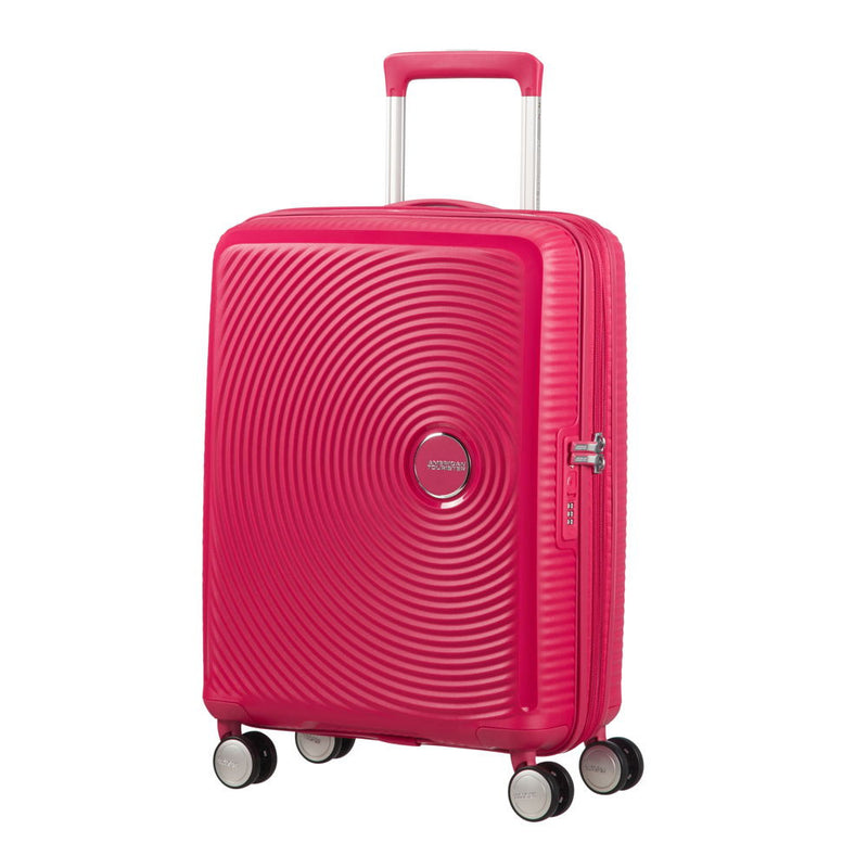 American Tourister Soundbox 55cm Spinner Lightning Pink