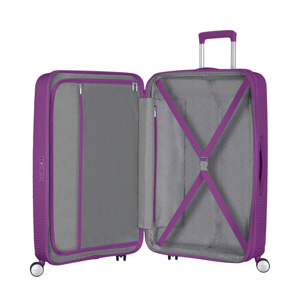 American Tourister Soundbox Spinner 67cm Purple Orchid