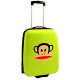 Paul Frank Lime Green Solid Cabin Case Lime Green