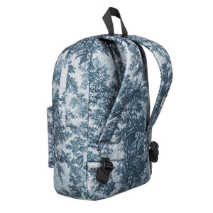 Quiksilver Night Track Print Sunset Tunnels Snow White Backpack Back