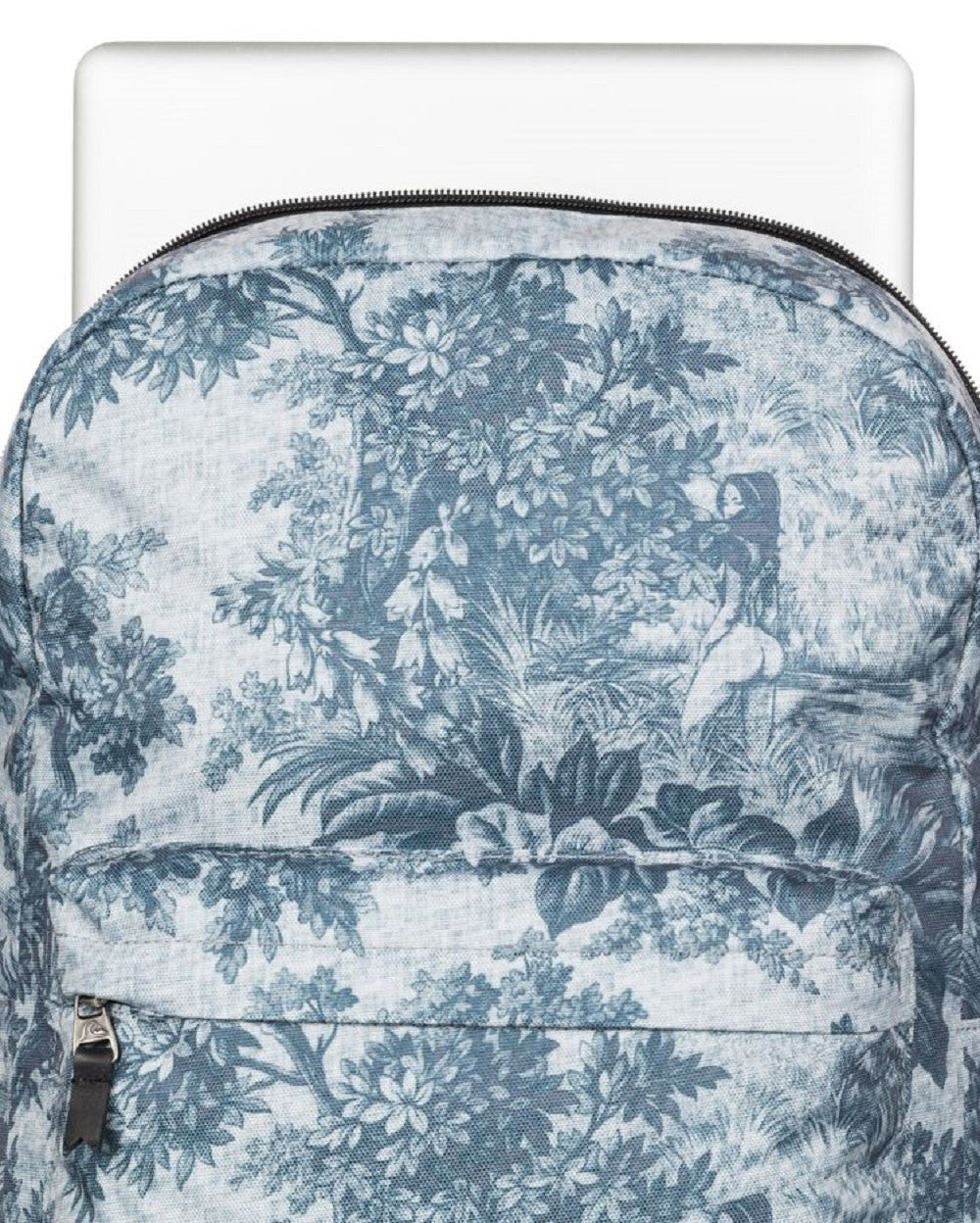 Quiksilver Night Track Print Sunset Tunnels Snow White Backpack Lifestyle