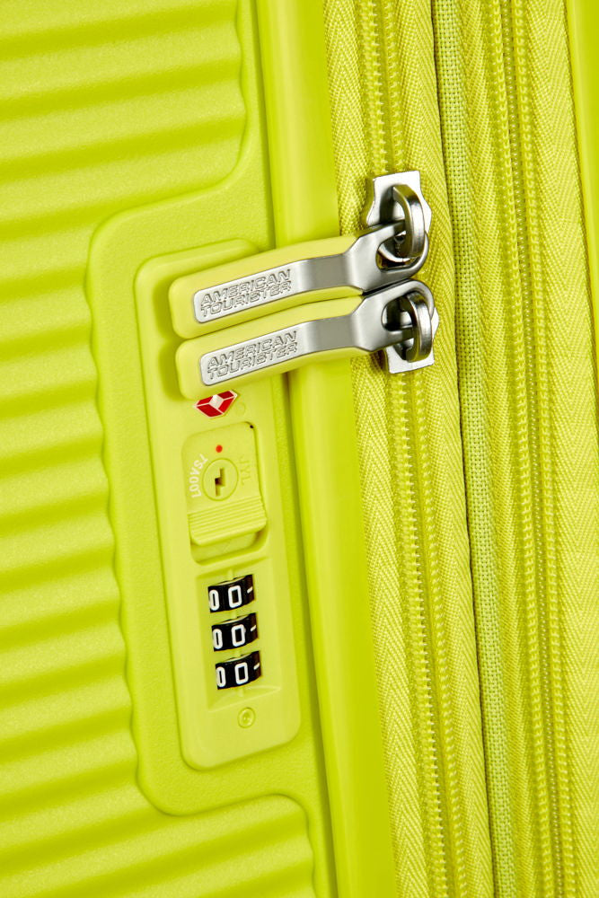 American Tourister Soundbox 55cm Spinner Tropical Lime