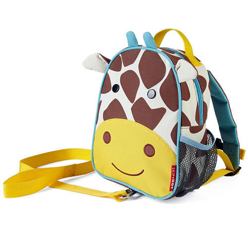 Skip Hop Giraffe Mini Backpack with Safety Reign