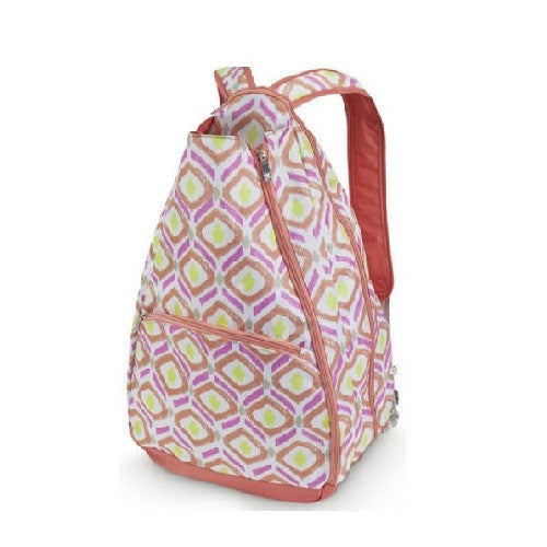 All For Color Tennis Backpack Sunrise Key