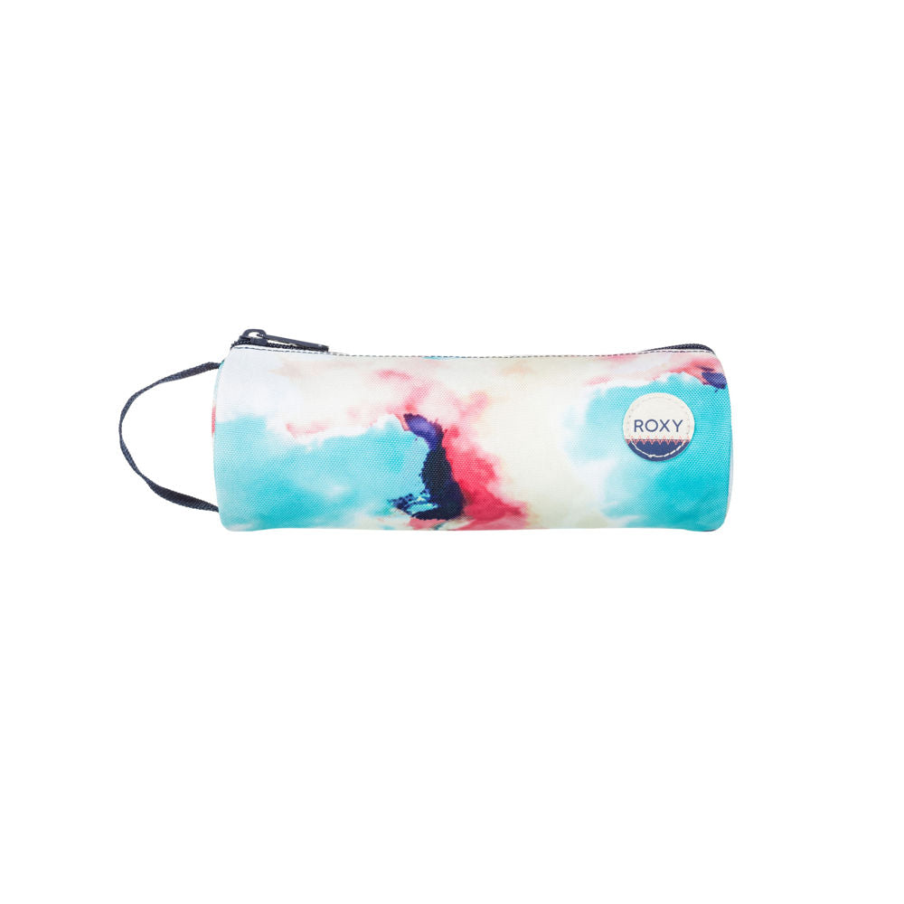 Roxy Pencil Case Anthracite Placid Blue Cloud Nine