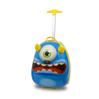 Kids Travel 2 Children's Suitcase Monster Handle