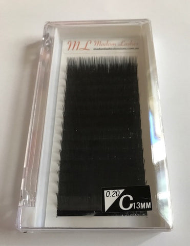 Super Soft Individual Lashes (Dense Black)C 0.20 SALE! 40% OFF - LAST CHANCE!