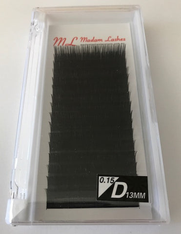 Super Soft Individual Lashes (Dense Black)D 0.15 SALE! 40% OFF - LAST CHANCE!
