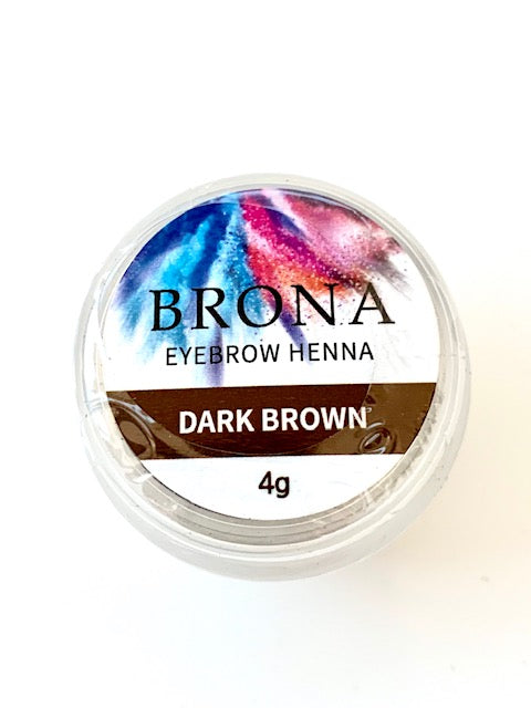 HENNA for Eyebrows - 'BRONA' - SAVE 40% -  beautiful product! Vegan friendly ! Derived from Mother Nature!
