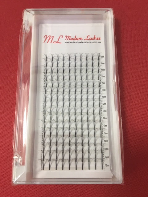 6D D 0.10 Mixed Volume Lash Trays - 16 ROWS! ONLY $17 A TRAY!