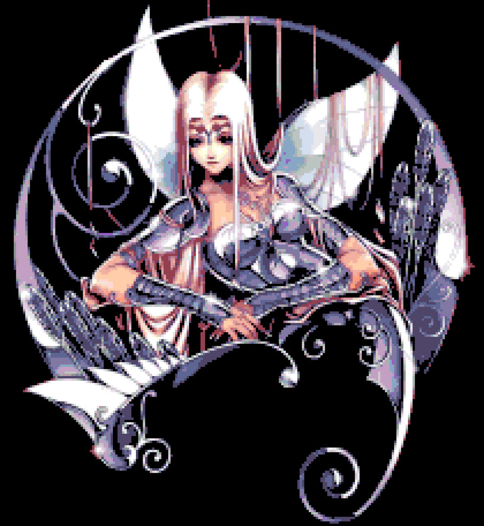 Angel Fairy Counted Cross Stitch Kit