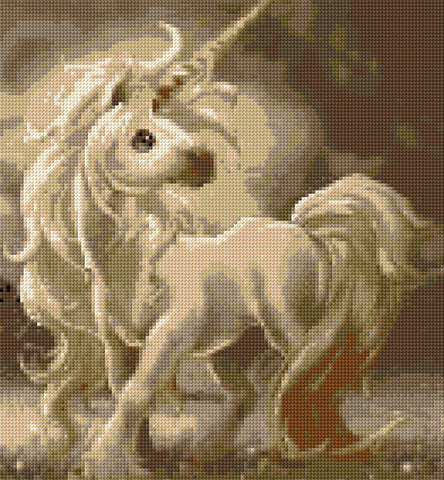 Baby Unicorn Counted Cross Stitch Kit Fantasy
