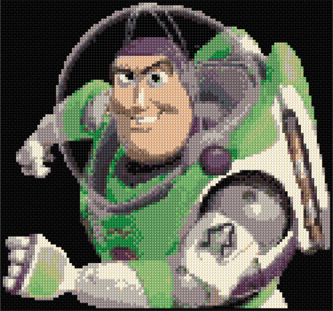 Buzz Lightyear Counted Cross Stitch Kit
