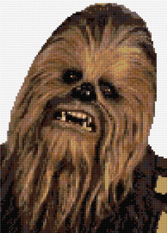 Chewbacca Counted Cross Stitch Kit TV/Film character