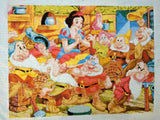 Snow White & The 7 Dwarfs Full Counted Cross Stitch Kit