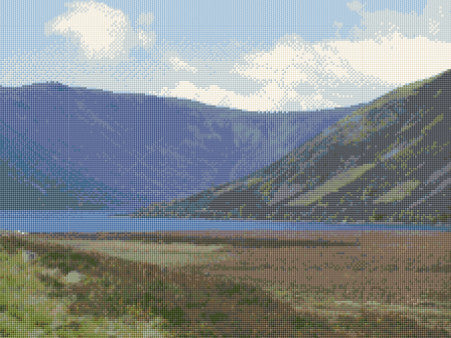 Loch Muick  Counted Cross Stitch Kit
