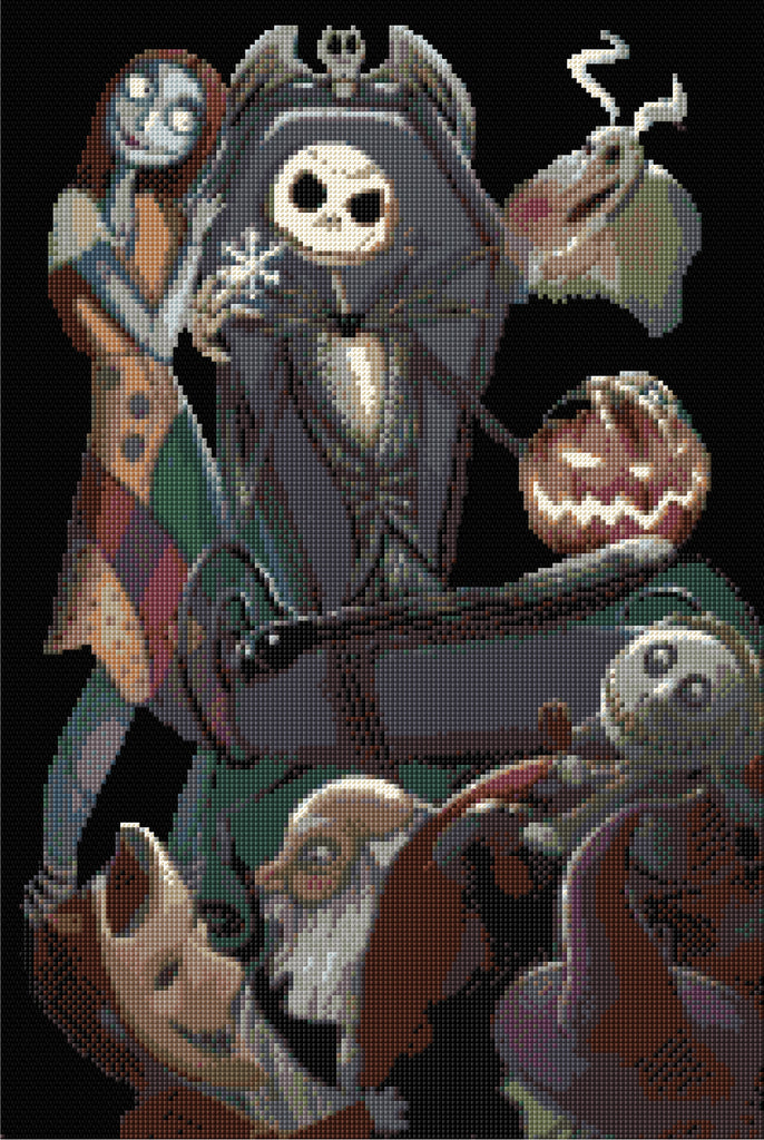 Nightmare Before Christmas Counted Cross Stitch Kit Film Characters/Horror
