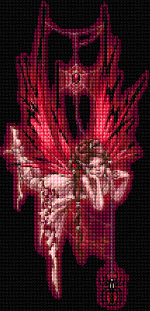 Spider Fairy Counted Cross Stitch Kit
