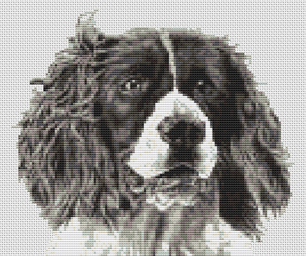 Springer Spaniel Dog Counted Cross Stitch Kit Animals Dogs